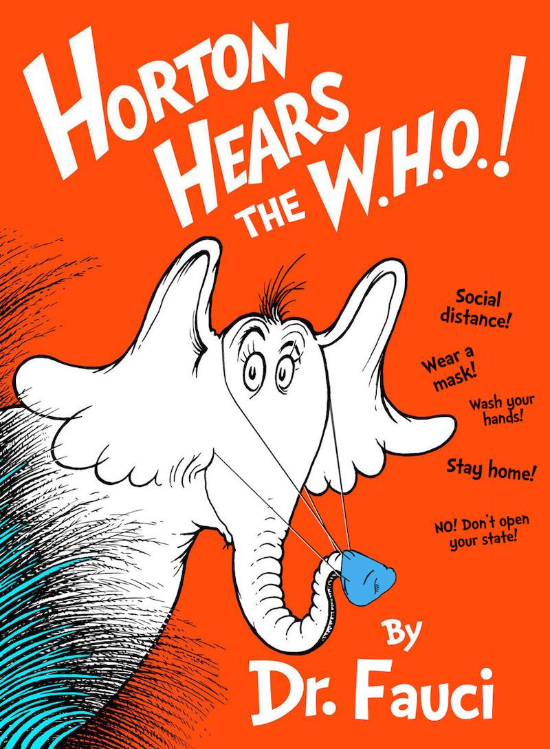 Horton hears the w.h.o.!
