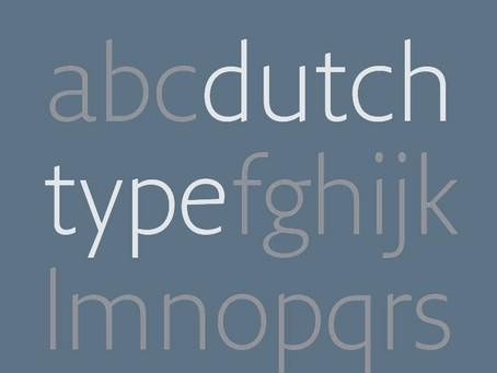 A Dutch Type History Redux