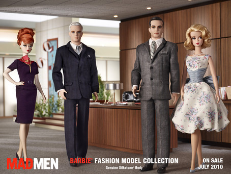 Barbie, Ken, Sterling, Cooper, Draper