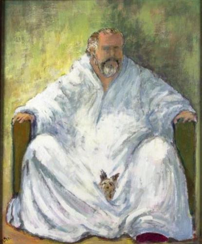 Self Portrait by Orson Welles