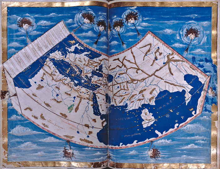 Geographica, a world map by Ptolemy, c.1460
