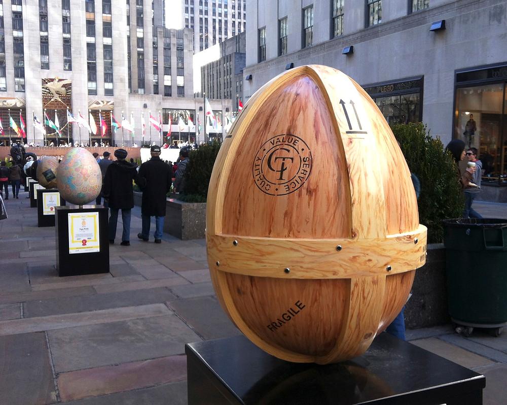 Egg #282 by Cadogan Tate