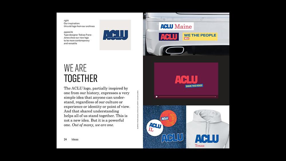 ACLU institution branding
