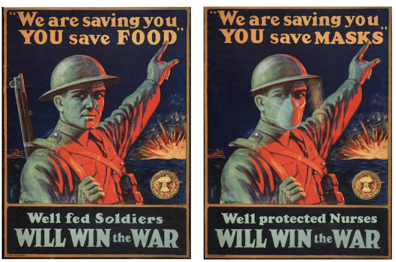 Well fed soldiers will win the war