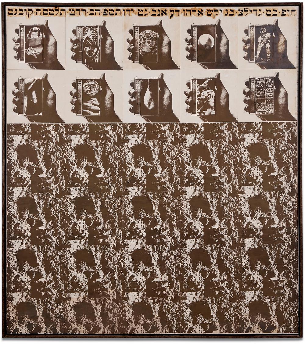 Wallace Berman: Untitled, c. 1968.