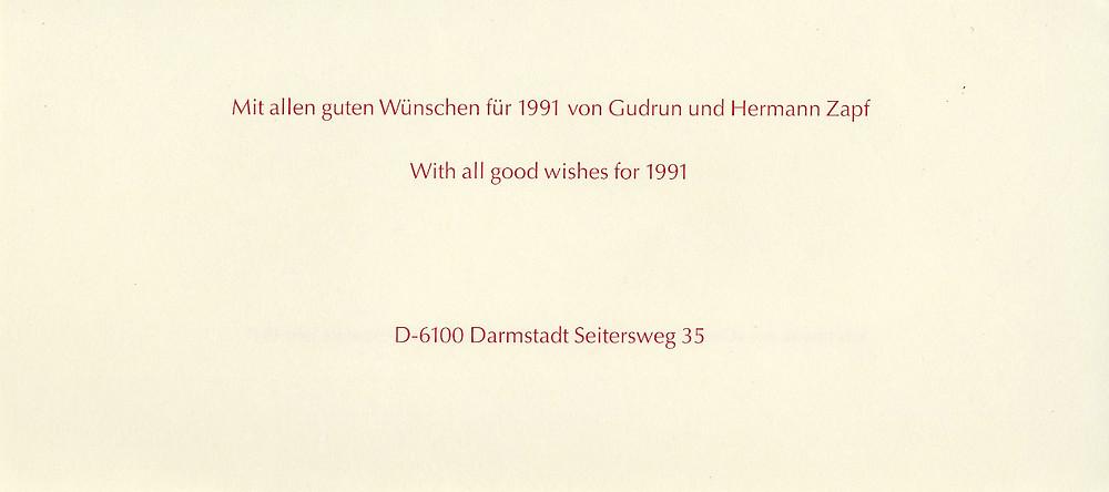 Gudren and Hermann Zapf