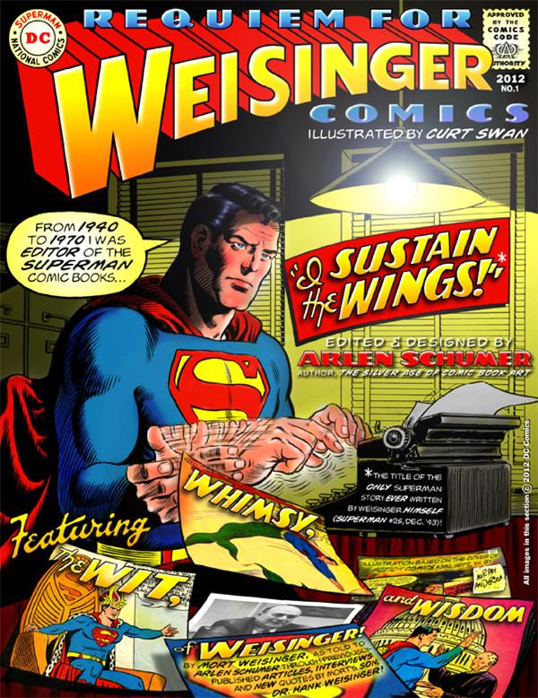 Requiem for Weisinger comics