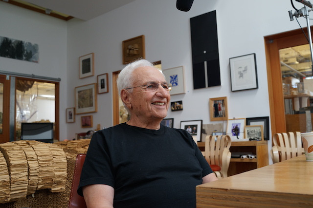 Frank Gehry, video still from Briefly