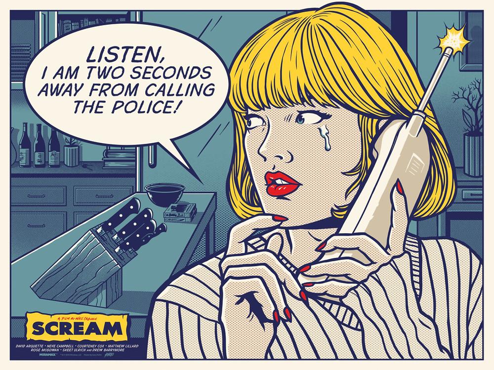 'Scream' by Gary Pullin