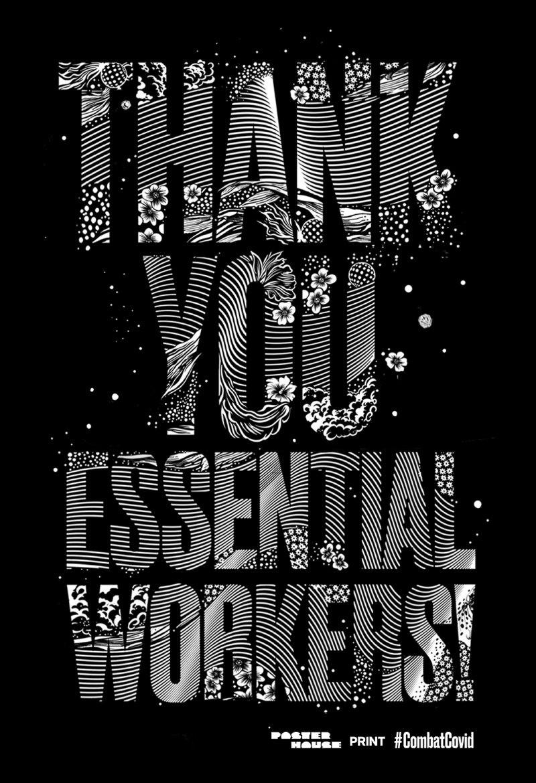 Gemma O'Brien - thank you essential workers