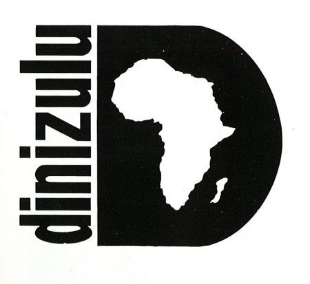 Logo for Dinizulu, an African dance troupe. Designer: Kirk Brown