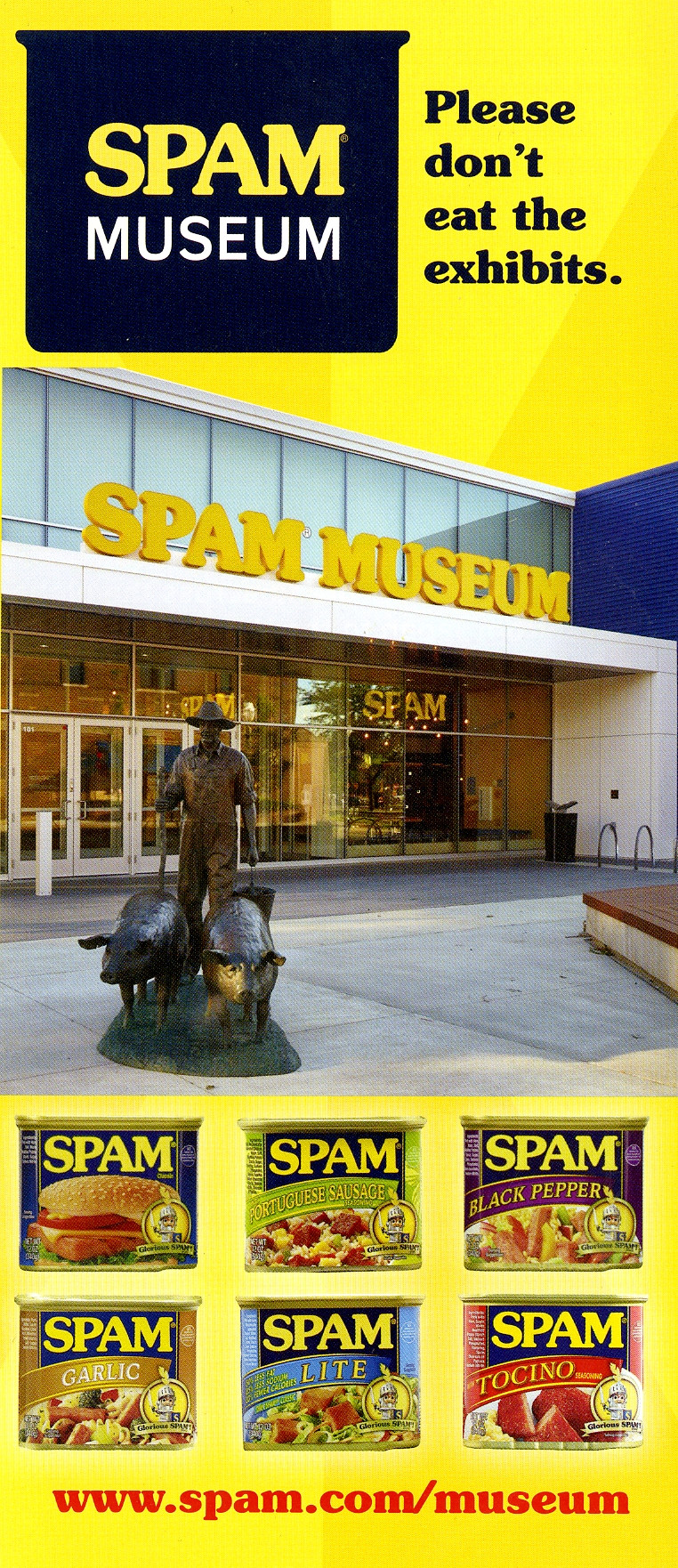 Spam museum ad