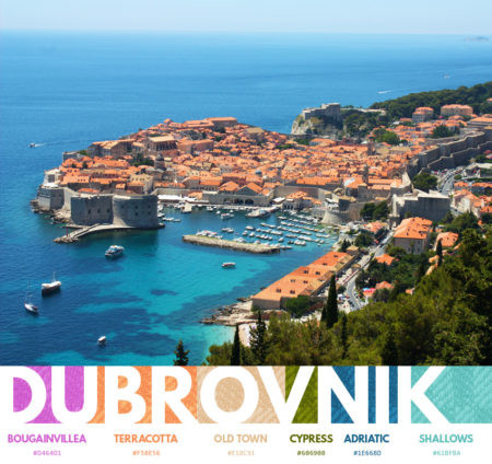 Dubrovnik color themes