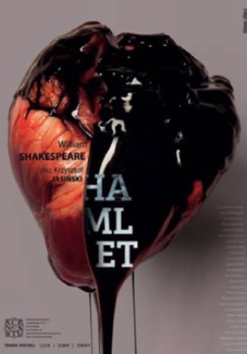 "Katarzyna Zapart: ""Hamlet Theatre Poster"""