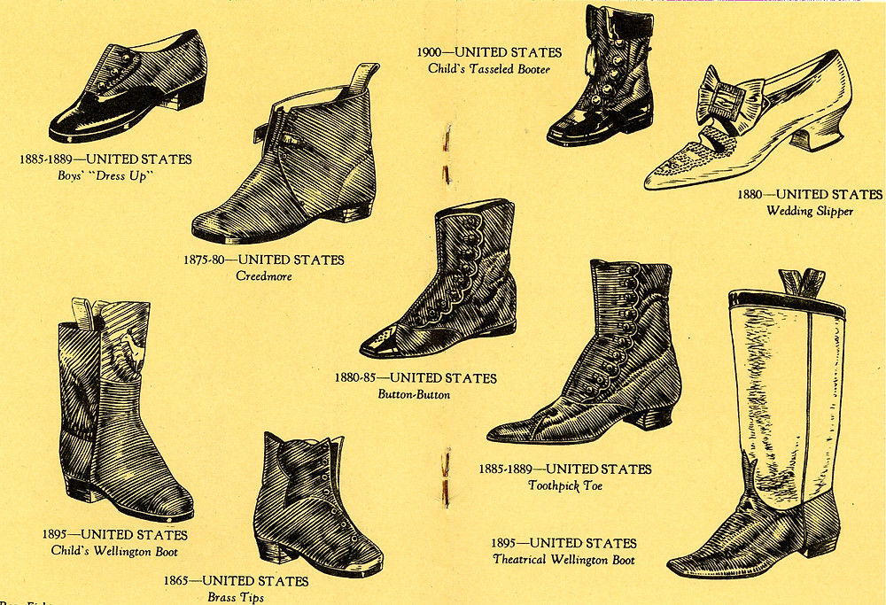 Shoes thru the ages page 3