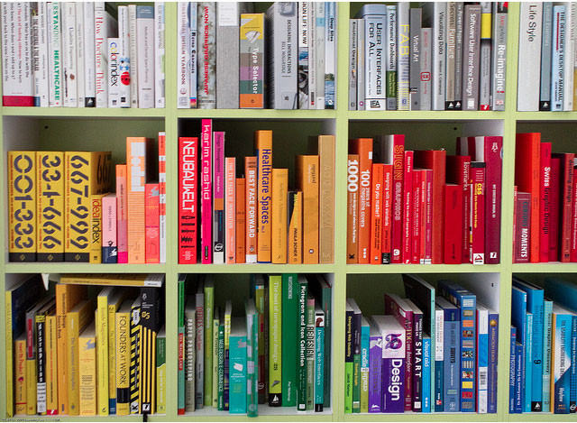 colorful books | color trends