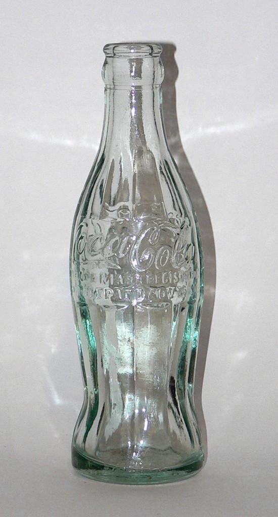 """The first """"Hobble Skirt"""" bottle"""