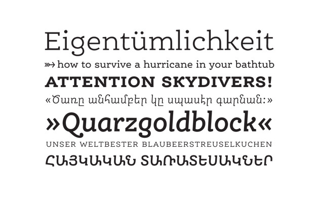 Ernestine Specimen type designer