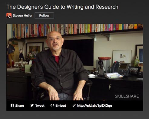 the designer's guide to writing and research