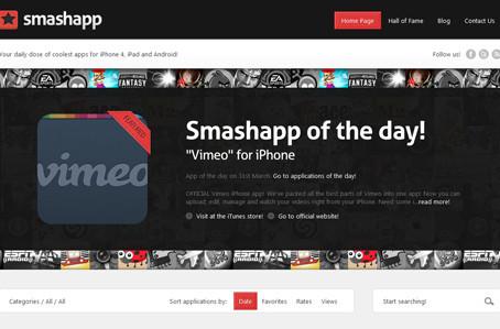 A Beautiful Site: Smashapp.com