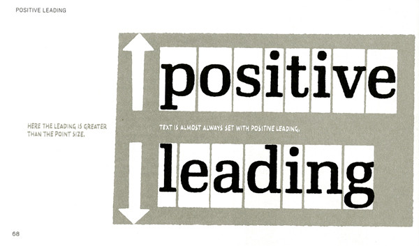 Positive leading is the most common.