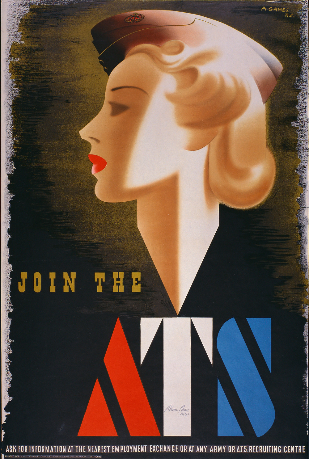 Join the ATS - poster