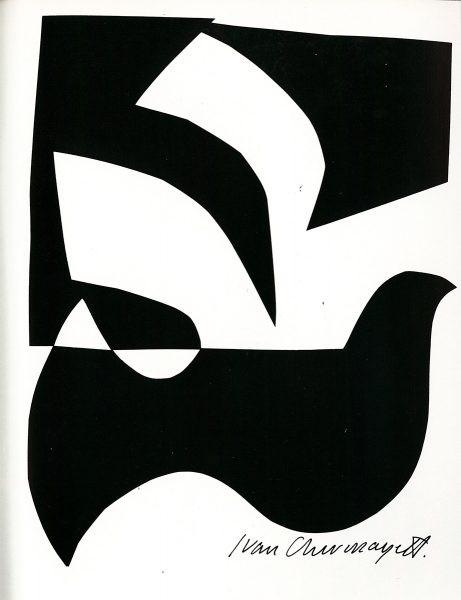 black and white Ivan Chermayeff