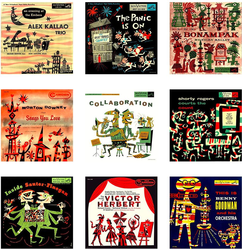Jim Flora's fine art prints
