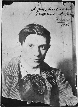 Pablo Picasso in 1904