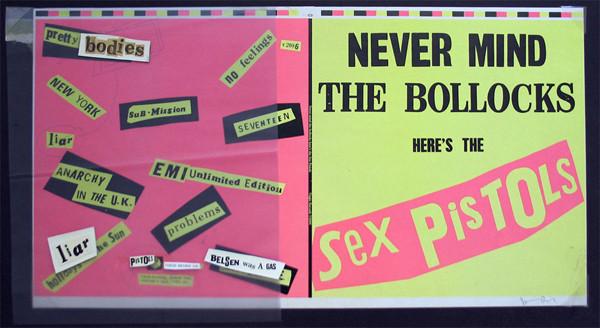 Never Mind the Bollocks, complete album cover