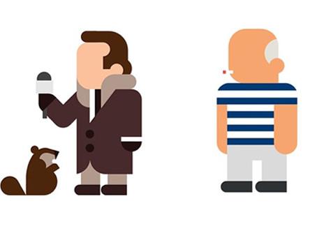 04/09/2014: Minimalist pop culture icons