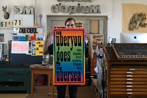 Dafi Kühne: Letterpress, Posters & Process