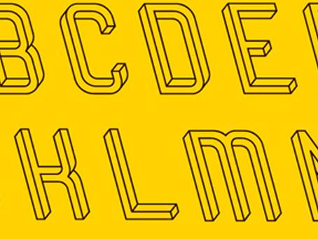02/12/2014: Optical illusion typeface