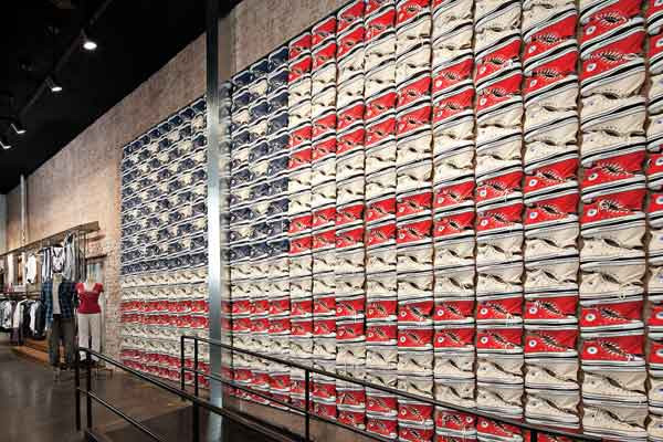 Retail design for Converse.