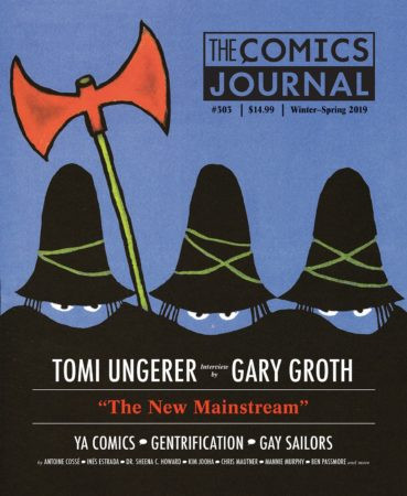 The Comics Journal returns to print with an interview with Tomi Ungerer.
