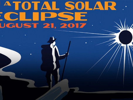 History-Infused Posters for the Total Solar Eclipse