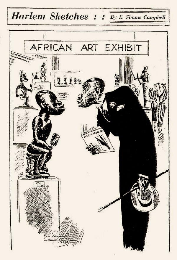 african art exhibit
