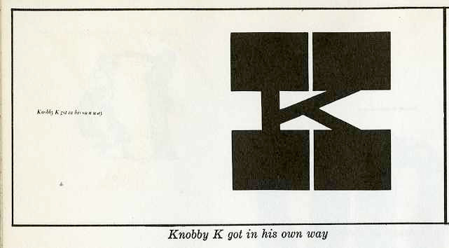 """knobby """"K"""" got in his own way"""
