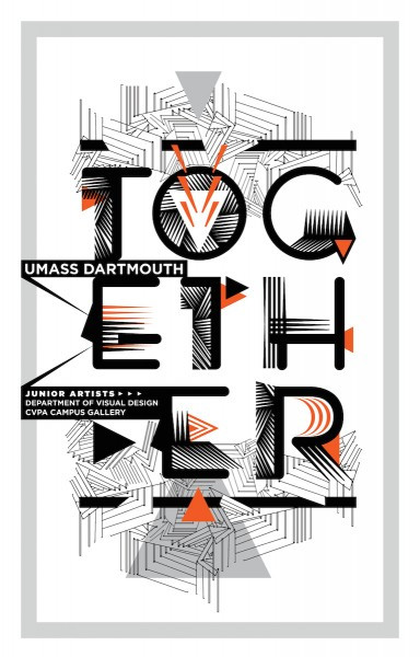 Together Design Department Fall 2013 Exhibit Poster