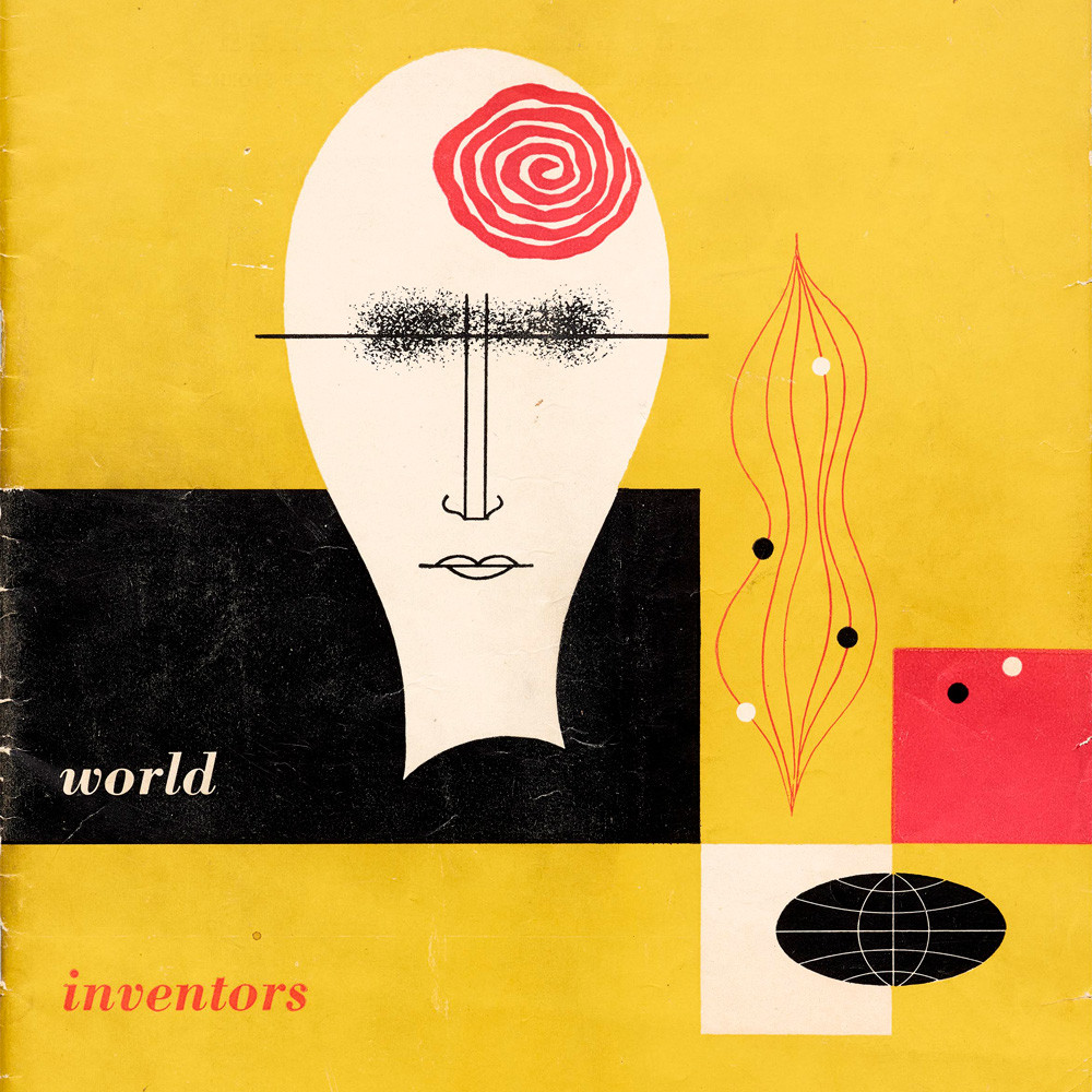 Alvin Lustig, Catalog for World Inventors Exposition, 1947.