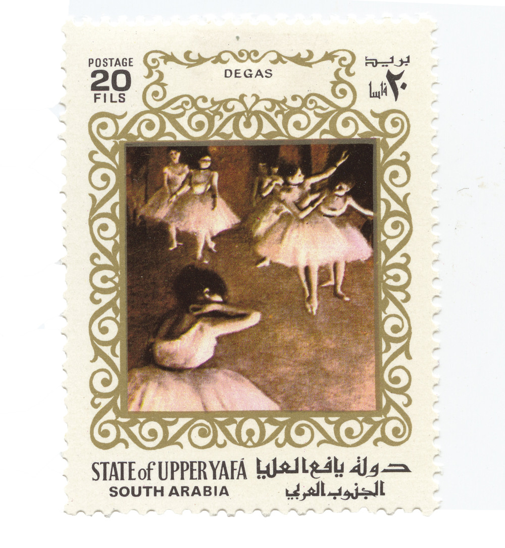 forgotten nations and their postage stamp design - upperyafa