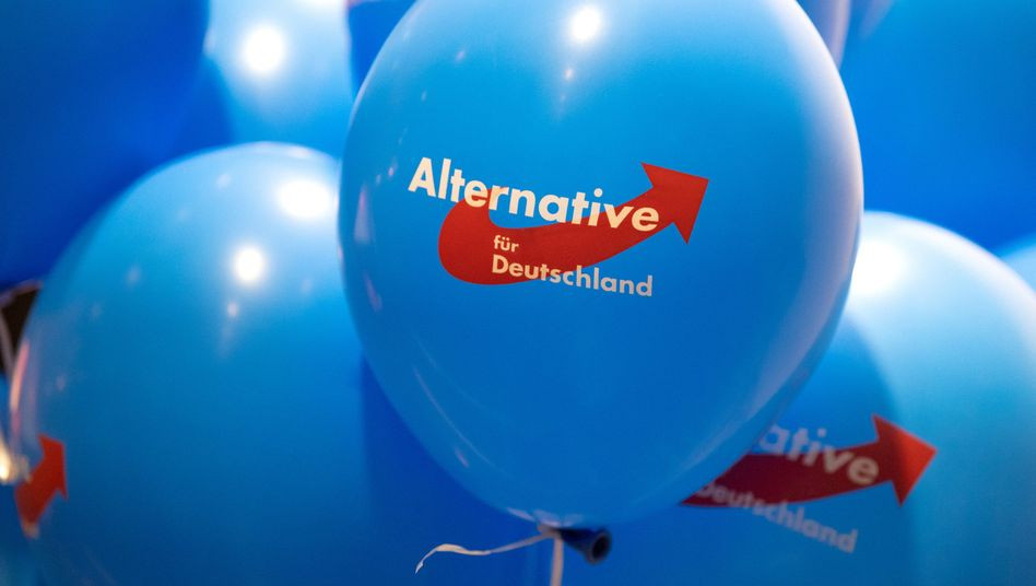 Alternative fur Deutschland ballon