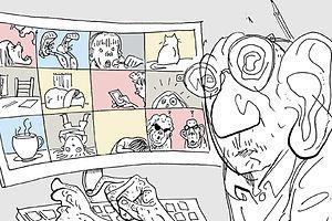 CoviDiaries: Legendary Illustrator Steve Brodner Bears Witness