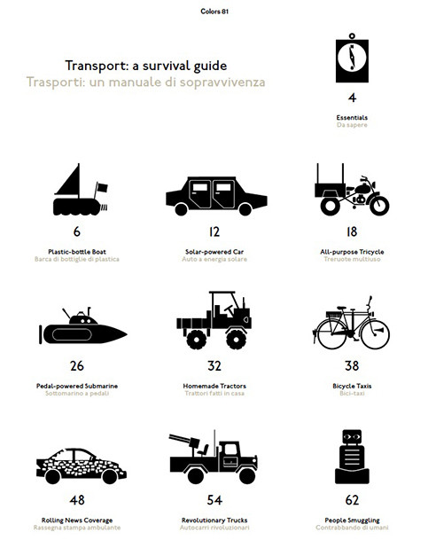 Transport: a survival guide