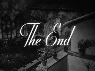 In a lonely place movie title screenshot