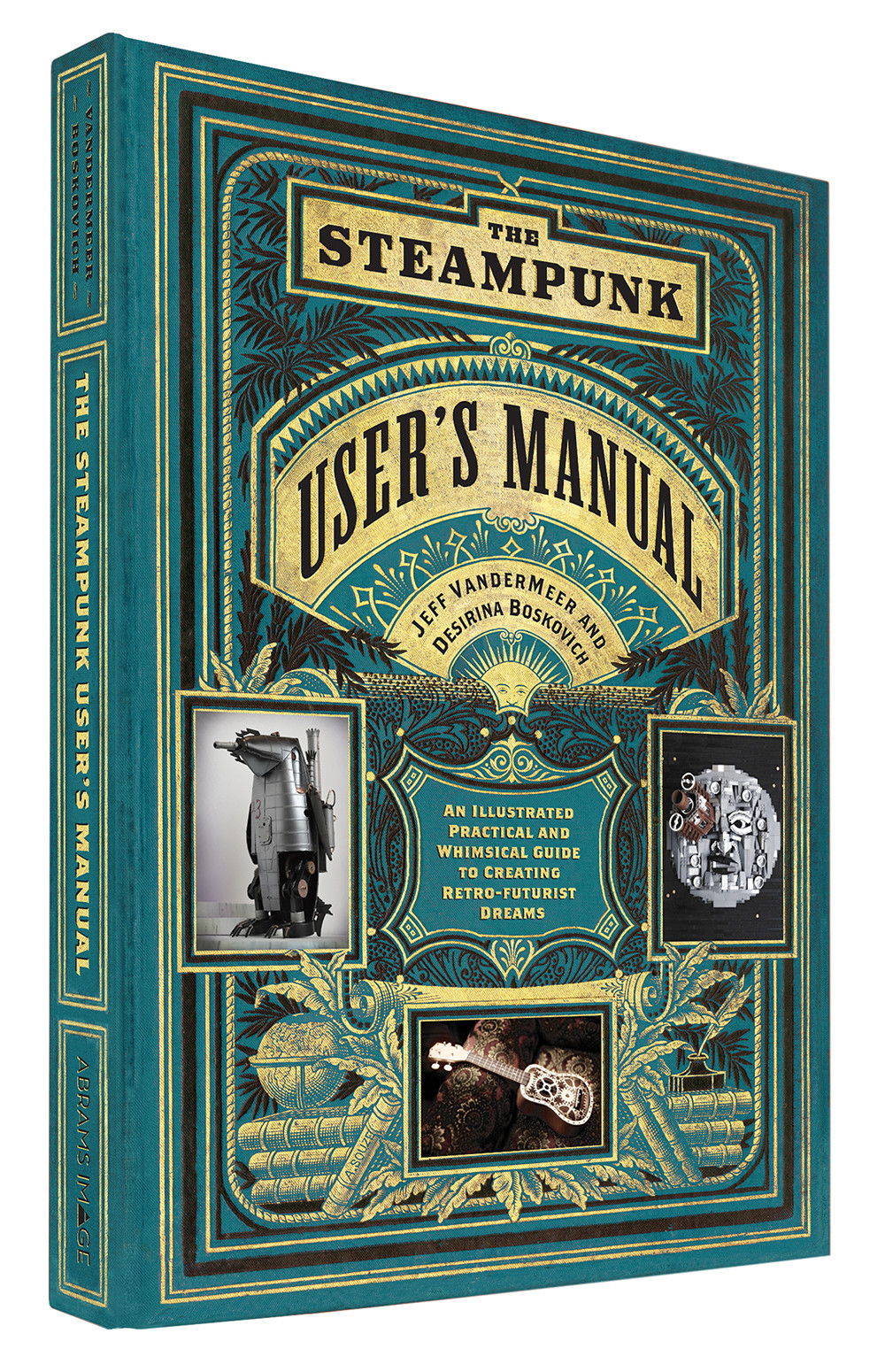 The Steampunk User's Manual; beautiful graphic design by Galen Smith, designer of the week