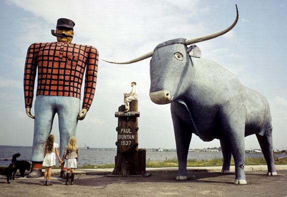Paul Bunyan and Cow