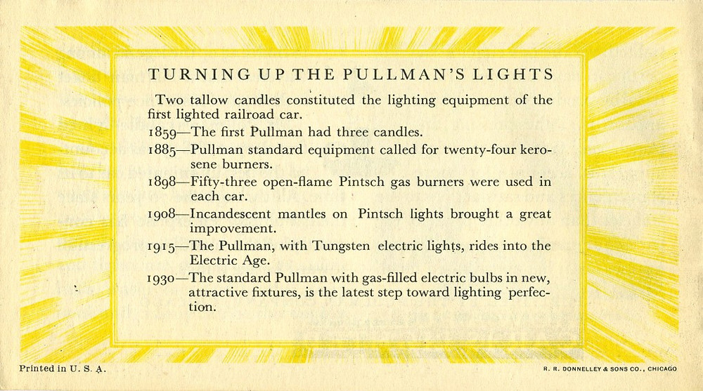 Pullman's Lights