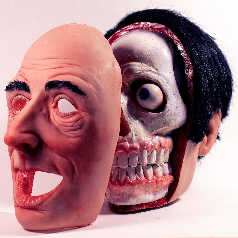 detached face
