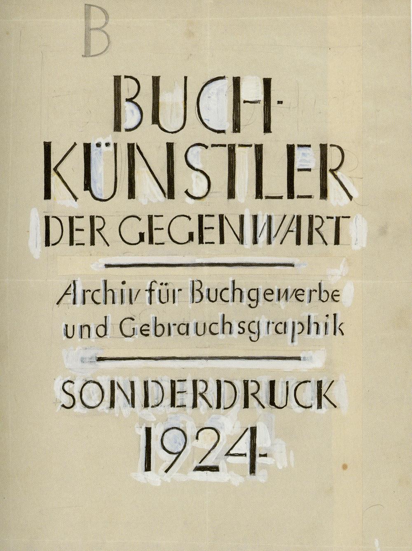 Typographer Tschichold